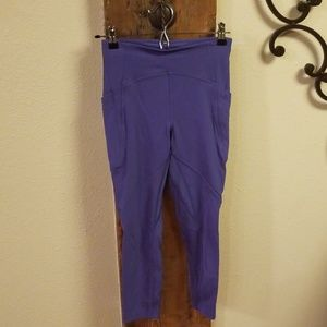 Lilac Lululemon Train Time size 4